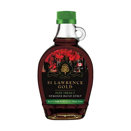 Faith In Nature St Lawrence Gold Pure Organic Maple Sirup Grade A Dark Robuster Geschmack 250 ml 1er Pack(1 x g)