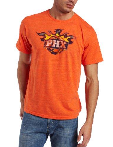 NBA Phoenix Suns Better Logo Tri Blend Tee (Orange, XX-Large)