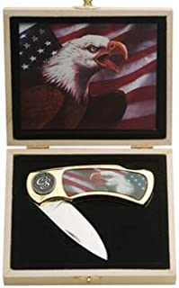 SZCO Supplies Angry Eagle Collector Series Knife