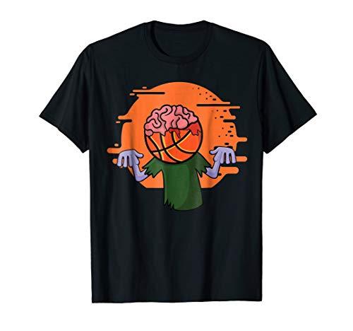 Basketball Zombie T-Shirt Funny Halloween Costume Shirt