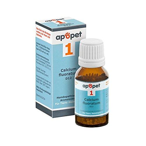 APOPET Schüßler-Salz Nr.1 Calcium fluor.D 12 vet. 12 g