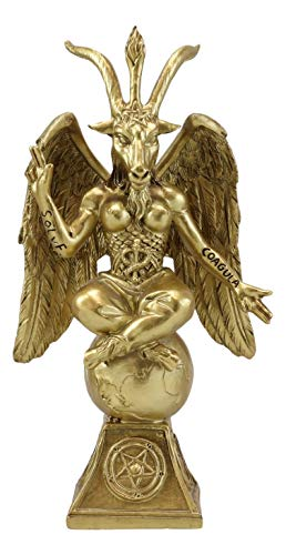 Ebros Gift Church of Satan Sabbatic Goat Idol...