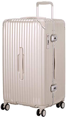 [カーゴ] スーツケース グッドサイズ スリムフレーム 多機能モデル CAT78SSR 保証付 78L 71 cm 5.7kg サテンゴールド