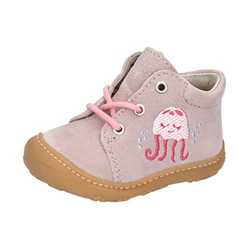 RICOSTA Kinder Boots Lucky von Pepino, Weite: Mittel (WMS),lose Einlage,terracare,schnürer,schnürstiefelchen,flexibel,Viola (323),19 EU / 3 Child UK
