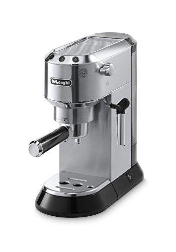 Delonghi EC680M DEDICA 15-Bar Pump Espresso Machine, Stainless Steel (Renewed)