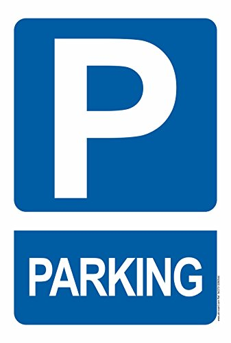 Cartel Resistente PVC - PARKING - Señaletica de informacion - (PARKING)