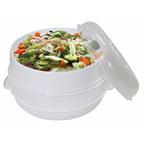5. JPWOnline - Cocina al Vapor para microondas BN