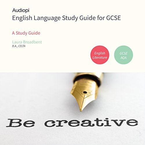 English Language GCSE Study Guide audiobook cover art