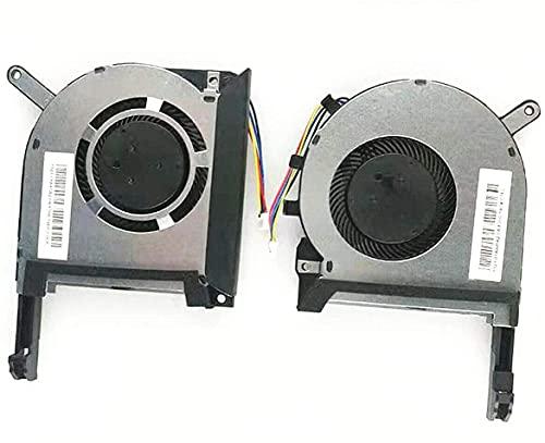 Ventilador de refrigeración para CPU y GPU para Asus TUF Gaming FX505 FX505DD/DT/DU FX505GU FX505DY FX505DV FX86SY FX86SE FX86FM FX86FE FX86SM FX86FD