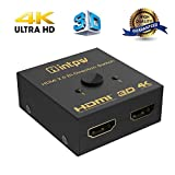 Best Hdmi Splitters - HDMI Splitter, Intpw Aluminum HDMI Switch 4K HDMI Review