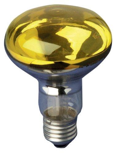 Electrovision gelb 60W ES/E27Sehr hohe Qualität R080Beinschutz Reflektor Lampe Beindecke
