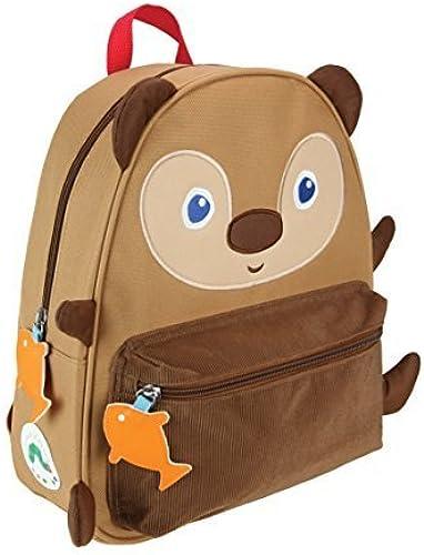 comprar nuevo barato World of Eric Carle marrón marrón marrón Bear Backpack Canvas Toy by Eric Carle  tiempo libre