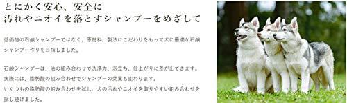犬用フルーツせっけんシャンプー290ml【ECO犬プロ】青りんごの香り全犬種用洗いあがりサッパリプロ仕様サロン専売ペット用