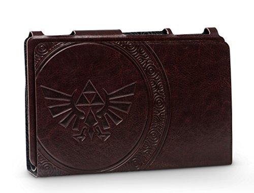 PowerA Hybrid Cover - Zelda Hylian Crest Leatherette - Nintendo Switch