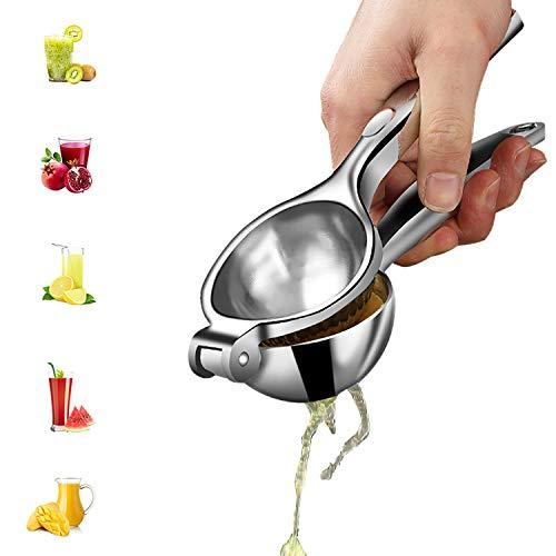 Lemon Squeezer Press Hand Juicer - SURDOCA 2nd generation Stainless Steel Fruit Juicer, Heavy Duty Metal Orange Juicer, Citrus Juicer, Lemon Juicer, Manual Fruit Juicer, Lime Squeezer
