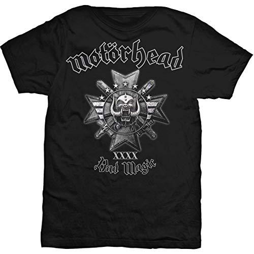 T-Shirt # M Black Unisex # Bad Magic