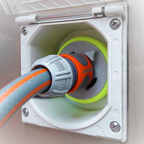 WATERTWIN Wohnmobil Wassertankdeckel Befüll Adapter mit Gardena Anschluss für neuere Dethleffs XLi, ALPA, TREND, PULSE Modelle (Typ 3-Pin D:68)