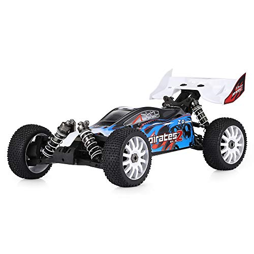 AKDSteel ZD Racing 9072 1 8 2.4G 4WD Buggy elettrico senza spazzole per auto 80 km h, alta velocità RC Frame (escluding Electronic Accessories)
