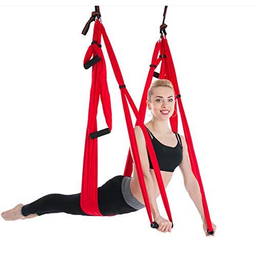Sale!! Juup Yoga Hammock Set Aerial Silk Yoga Set Safe Deluxe Aerial Kit Antigravity Yoga Swing/Slin...