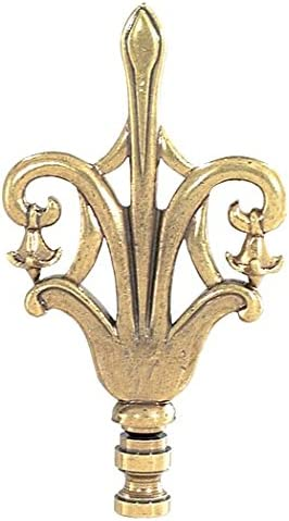 BP Lamp Sale special price 4 3 Antique Brass Free Shipping New Finial 4