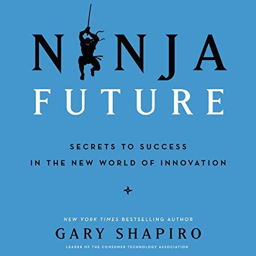 Ninja Future audiobook cover art