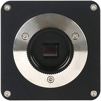 Color : White MYERZI Professional 1080P 4K UHD 8MP CMOS Digital Electronic Digital Industrial C mount Video Microscope Camera For Phone Repair Teaching Demonstrat