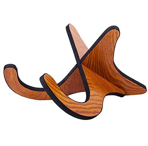Vockvic Soporte de Madera para Ukelele, Desmontable Soporte de Guitarra Portátil Soporte de Instrumentos Musicales, Plegable Soporte para Violín MandolinaUkelele Banjo