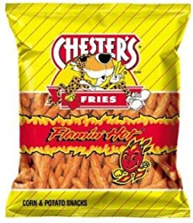 Chester's Flamin' Hot Flavored Fries, 2.75 Oz Bags (Pack of 12)