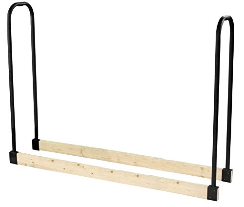 Pleasant Hearth - 32mm Heavy Duty Log Rack, Adjustable