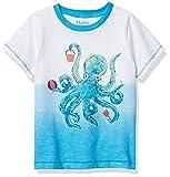 Hatley Baby Boy's T-Shirt, Playful Octopus, 9-12 Months