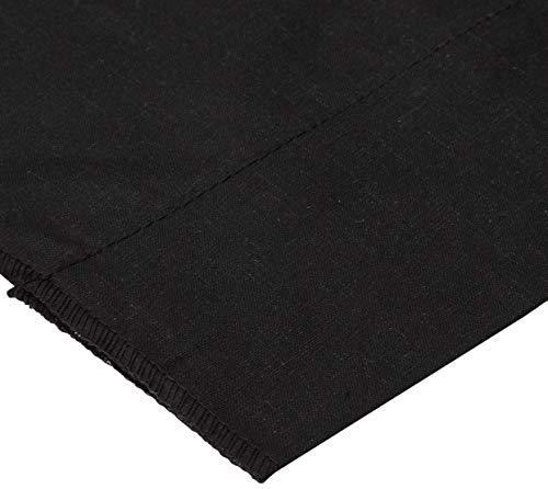 Cotton Broadcloth Black Fabric By The Yard
