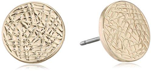 Pilgrim Damen-Ohrstecker Messing vergoldet 1.0 cm