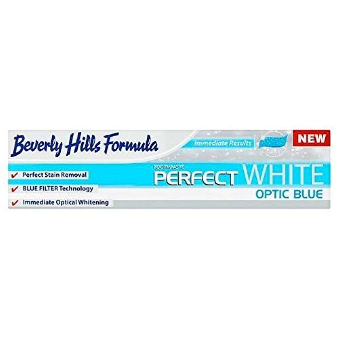 警告出会い偽善者[Beverly Hills ] ビバリーヒルズ公式パーフェクトホワイト歯磨き粉の100ミリリットル - Beverly Hills Formula Perfect White toothpaste 100ml [並行輸入品]