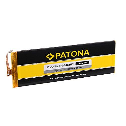PATONA Akku HB4242B4EBW kompatibel mit Huawei Honor 6 H60-L01 L02 L11 H60-L04