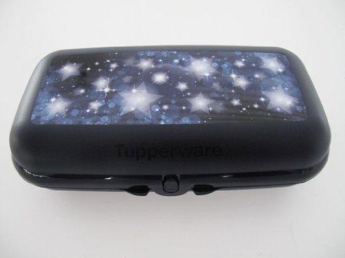TUPPERWARE To Go Maxi-Twin dunkelblau Sterne Box Maxitwin Sternenglanz Lunchbox