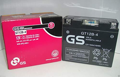 GS Gel-Batterie für Motorrad GT12B-4,wartungsfrei, Ducati Yamaha Aprilia