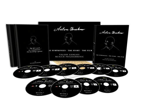 Anton Bruckner - The Symphonies . The Story . The Film [10 DVDs]