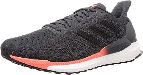 adidas Solarboost 19, Zapatillas de Carretera Hombre, Gris/Núcleo Negro/Coral Coral, 40 EU