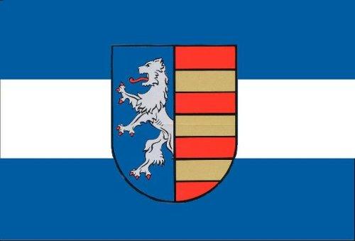 Fahne Flagge Stadt Garbsen Grösse 1,50x0,90m