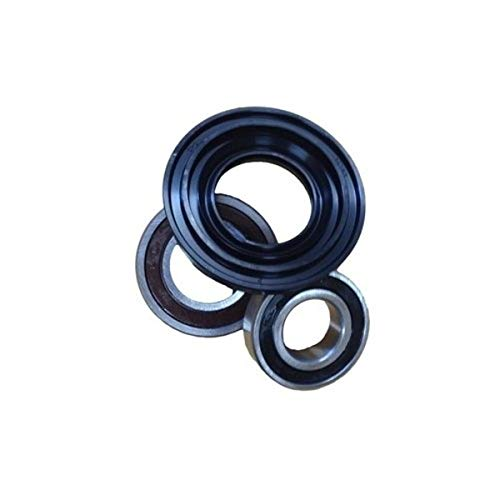 Big Bearing WK-04 Kenmore, Maytag and Whirlpool Front Load Washer Bearing and Seal Kit, Includes Three Bearings and One Seal, Metal/Rubber