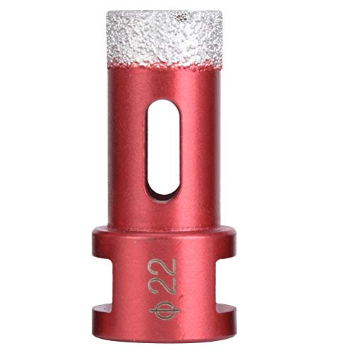 Sierra durable del agujero del diamante, agujero de las herramientas vio el diamante de la cabeza del cortador de 20m m hecho para el azulejo de mármol de cerámica