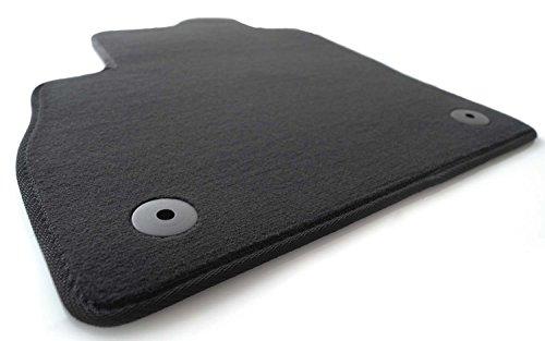 Fußmatte passend bei Astra K Velours Automatte Original Qualität Fahrermatte, Fahrerseite, schwarz