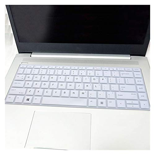 Soft Skin Protector, For 2019 HP ProBook 440 G5 14' / ProBook x360 440 G1 / 440 G6 / 445 G6 / 640 G4 14 inch laptop Keyboard Cover Protector Skin Waterproof Dust-Proof (Color : White)