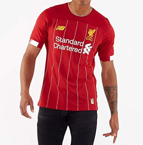Liverpool FC 2019-2020 Home Uomo Soccer T-Shirt Maglia (S, Red)