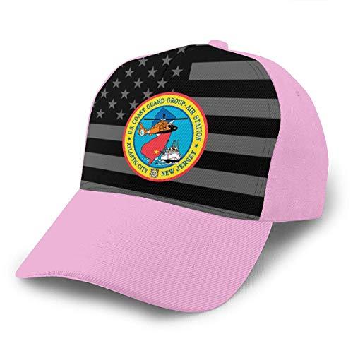 USCGC Group Flugstation Atlantic City Unisex Adult Hats Klassische Baseballmützen Peaked Cap