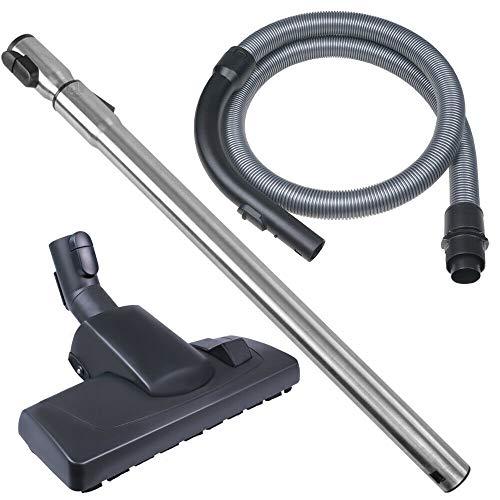 SPARSET - Schlauch mit Griff, Rohr und Bodendüse - Für Miele Staubsauger C3 & S6000 / S8000 passend