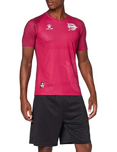 Deportivo Alavés 2ª Equipación Camiseta, Adultos Unisex, Rosa, XL
