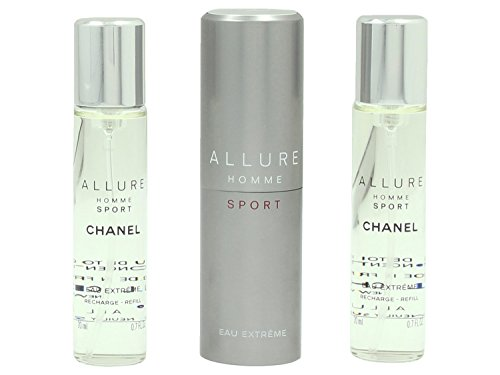 Chanel Allure Homme Sport Eau de Toilette Extreme Set Vaporisateur/Spray 20 ml/Refill 20 ml for Men