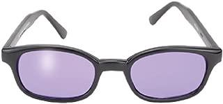 Original Kd's Biker Purple Lenses Black Frames Sunglasses