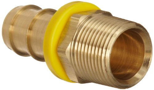 Dixon BPN66 Brass Push-On Hose Fitting, Adapter, 3/4